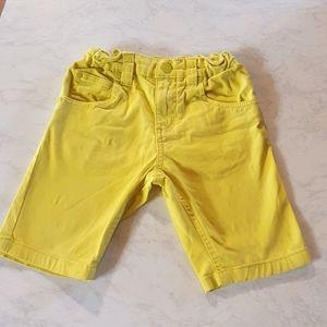 Size 6 Tilt yellow shorts